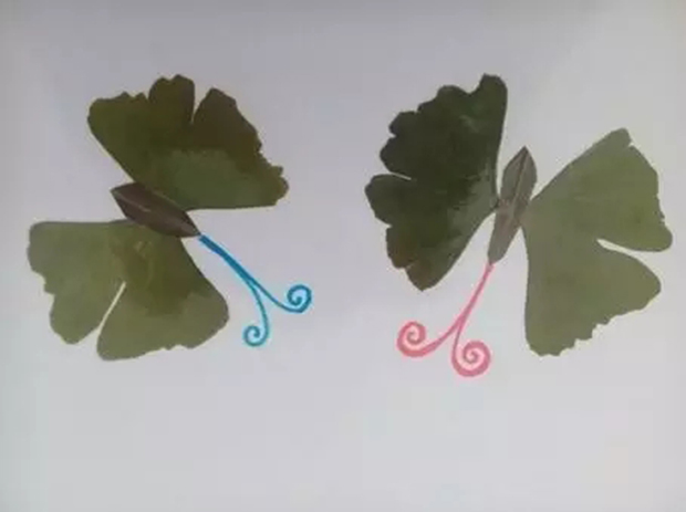 树叶粘贴画/蝶舞-CDV新奥特新闻中心 CCBN前瞻 春暖花开,公益在路